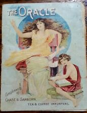 """""""Chase & Sanborn"""" booklet titled """"The Oracle"""" ADVERTISING 1900'S"""