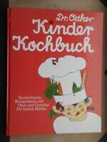 Helga Helbig: Dr. Oetker Kinder-Kochbuch 1985 Kunterbunte Rezeptideen Obst