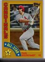 Paul Goldschmidt 2019 Topps 1984 Topps All-Stars Oversize 5x7 Gold #84AS-PG /10