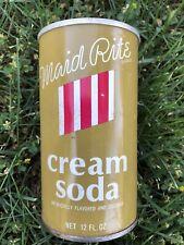 Maid rite cream soda can Pull Tab