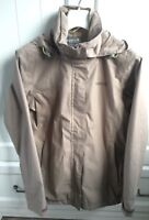 Ladies Regatta Beige Waterproof Outdoor Jacket Coat Walking Hiking UK 10 (EU 36)