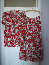 Jacques Vert skirt and top, UK size 10
