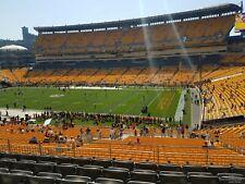 Baltimore Ravens @ Pittsburgh Steelers 4 club seats- Thu 11/26/20 Sec 215, Row G