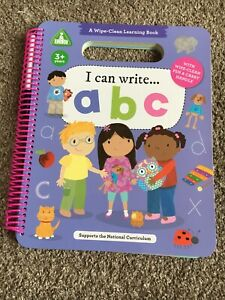ELC A Wipe-Clean Learning Book