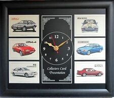 Ford Sierra The Performers Stunning Collector Cards Clock