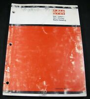 CASE 1500 Series Uni Loader Skid Steer Parts Manual Book Catalog OEM Original