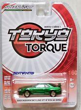 Greenlight 2017 Tokyo Torque 2001 Nissan Skyline GT-R R34 m-spec Vert Machine W