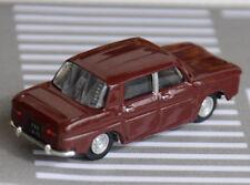 Voiture miniature ho - Voiture décor NOREV - Renault 8  microminiature ho en TBE