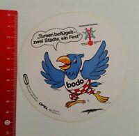 Aufkleber/Sticker: Deutsches Turnfest 1990 - bodo Maskottchen (010716114)