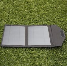 10W Folding Solar Panel Camping Phone Camera Charging Kit by PK Green