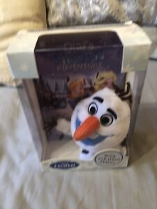 Disney Frozen Olaf's Frozen Adventure Book And Hand Puppet Brand New