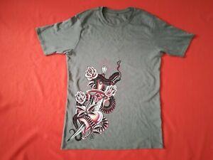 AKATENANGO Dolch Shirt Größe L - NEU - oliv