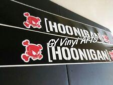 Hoonigan Ken Block JDM Windshield Stickers Banners Decals Sunstrip Sun visor