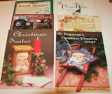 --(6) Acrylic Art Books: Holiday Crafts: Various Artists