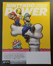 2009 Nintendo Power Magazine #244 August Mario & Luigi Bowser, E3, Wii Sports