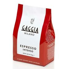 Gaggia Intenso Whole Espresso Italian Roasted Coffee Beans 500g Bag