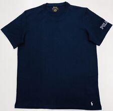 Polo Ralph Lauren Crew Neck T Shirt In Navy Blue