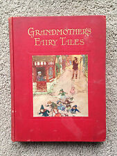 Grandmother's Fairy Tales 1915 HEWITT Maurice Lalau DUMAS RARE RED COVER