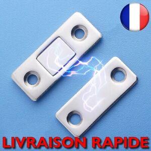 Serrure Porte Placard Magnétique Loquet Invisible Aimant Vis Meubles Maison Mode
