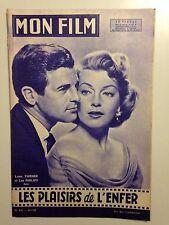 MON FILM N°622 1958 LES PLAISIRS DE L'ENFER / LANA TURNER - LEE PHILIPS