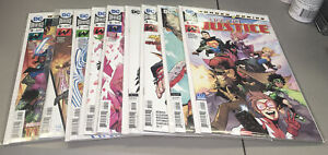 Young Justice #1 2 3 4 5 6 7 8 9 DC Bendis Justice League Full Run 1st App