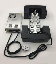 10 heads Ultrasonic mist maker fogger humidifier + transformer 220V Fog Making