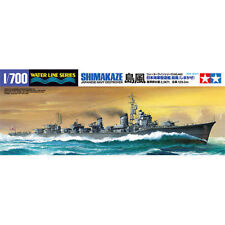 TAMIYA 1:700 KIT DA MONTARE NAVE JAPANESE NAVY DESTROYER SHIMAKAZE ART 31460
