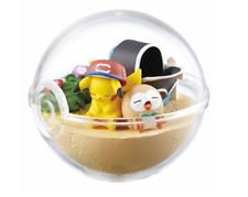 Pokemon Terrarium Collection EX Alola collection Pikachu & Rowlet Japan Re-Ment