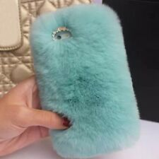 Luxury Warm Fluffy Soft Fur Skin Phone Case Cover For iPhone 4 4S 5 5S 6 6s Plus