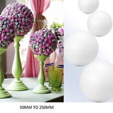 50mm to 300mm Solid Styrofoam Balls Modelling Polystyrene Sweet Tree Sphere