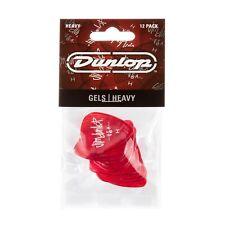 "Dunlop 486Phv Gelsâ""¢ Guitar Picks Heavy 12 Picks with Free Shipping"