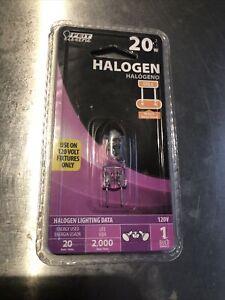 BK5- Feit Electric 20W Halogen Bulb GY8.6