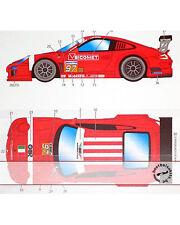 ST27 PORSCHE 911 GT3 SCUDERIA ITALIA DECAL FUJIMI 1/24