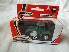 MATCHBOX MADE IN CHINA SHOVEL-NOSE TRACTOR GREEN/GREY