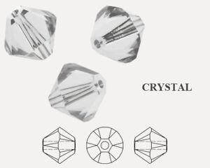 Genuine SWAROVSKI 5328 XILION Bicone Crystals Beads * More Colors & Sizes