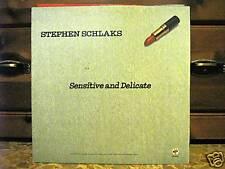 STEPEHEN SCHLAKS-SENSITIVE AND DELICATE-MAI SUONATO