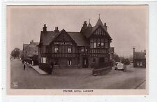STATION HOTEL, LARBERT: Stirlingshire postcard (C21763)