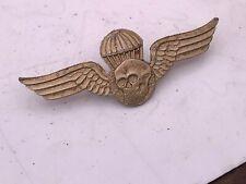 Golden Unknown Paratroopers Cap Badge