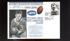 NEWTOWN JETS 1900-2000 RUGBY COVER, JOHNNY RAPER