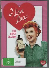 I Love Lucy Season 1 (DVD, 2016, 6 Disc Set) - Region 4