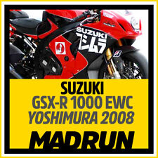 Kit Adesivi Suzuki GSX-R 1000 EWC 2008 - Team Yoshimura - High Quality Decal