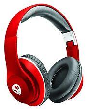 RadioShack 3301705 Ncredible1 Wireless Bluetooth Headphones - Red (IL/PL1-3929-3