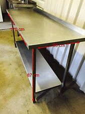 stainless steel  CATERING PREP TABLE commercial catering