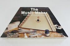 Music Maker Lap Harp Zither European Hand Crafted with Songsheets