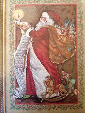 Santa's Wish List counted X stitch Kit Janlynn SEALED # 09-67
