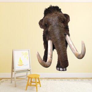 Wolliges Mammut Prähistorisch Wandtattoo WS-50655