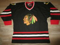 Chicago Blackhawks Ice Hockey NHL Pro Player Sewn Premier Jersey XL mens