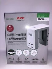 APC Multi-Use Surge Protector- 6 Outlets/4 USB Carging Ports