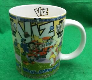 Viz What A Carry On Official Coffee Tea Mug Cup By Fulchester Industries Unused