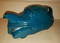 Hall 1992 Limited Edition Colonial Blue Antique Vintage Car Teapot